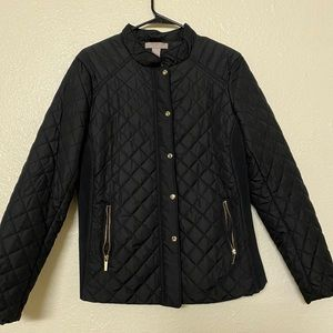 HM size 16 quilted black jacket